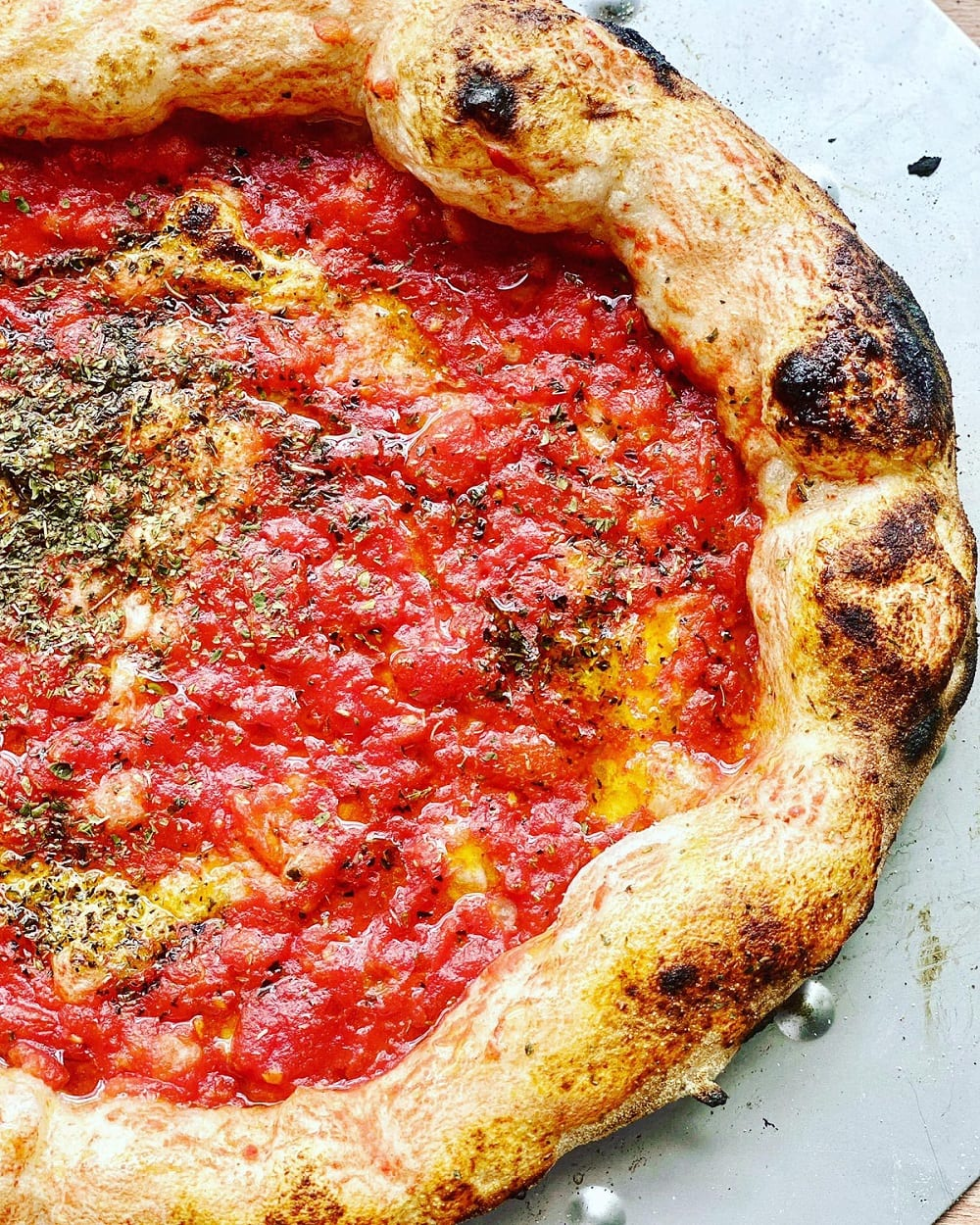 Pizza marinara di Foorn