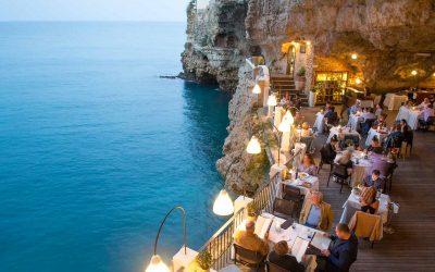Mangiare a Polignano a mare: Grotta Palazzese