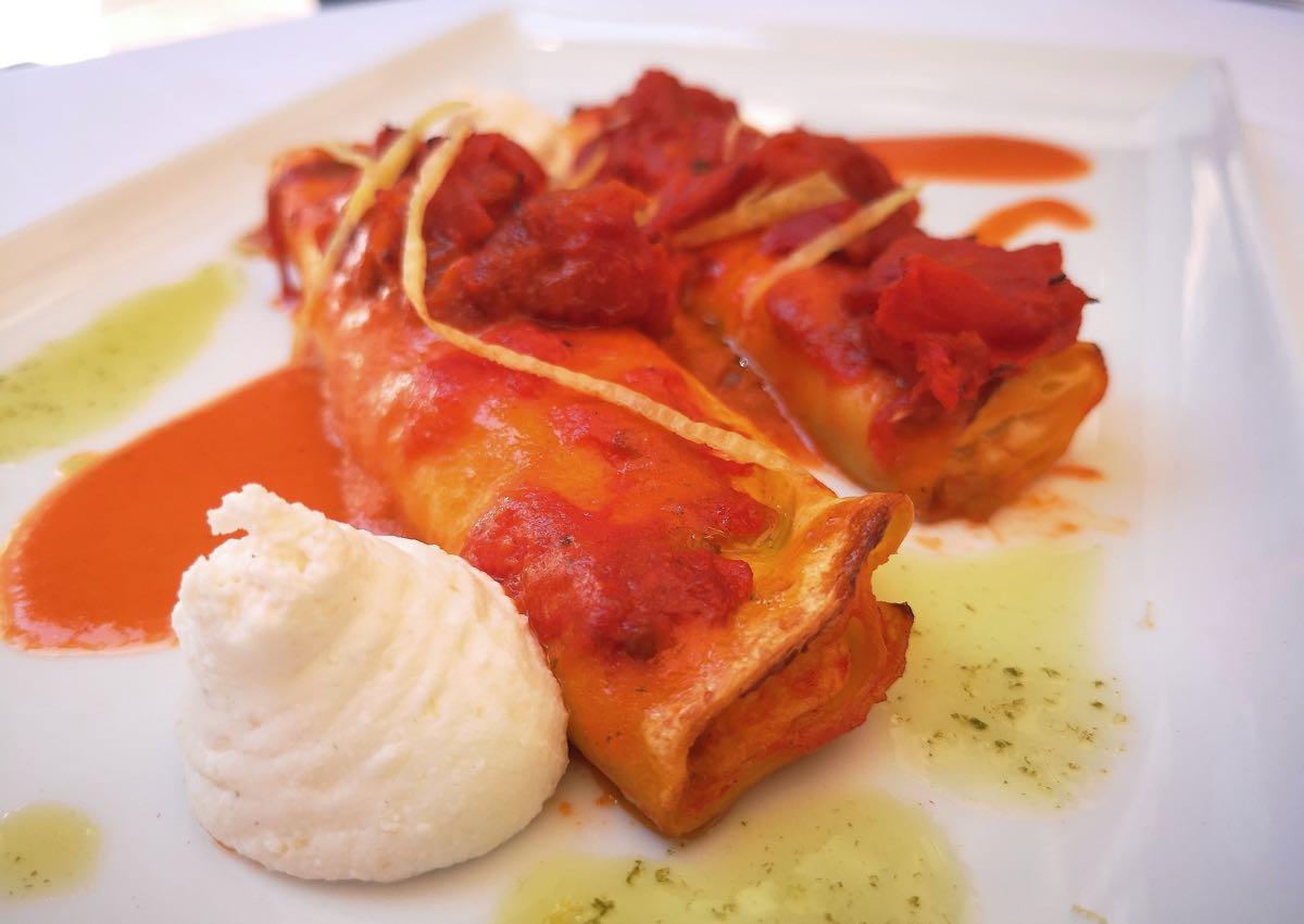 I Cannelloni del ristorante Al Pappagallo di Bologna