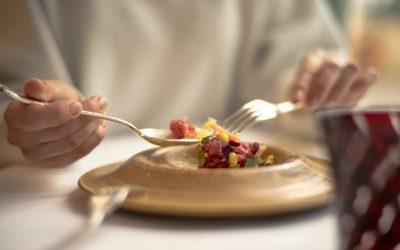 Un piatto in tavola a La Leggenda dei Frati