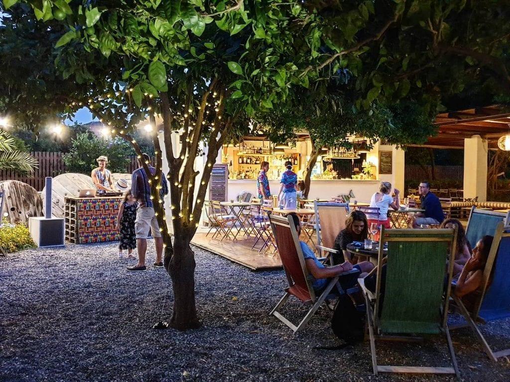 Serata musicale al Giardino di Lipari
