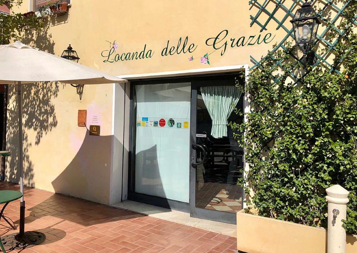 Locanda dell Grazie - Mangiare all'aperto Mantova
