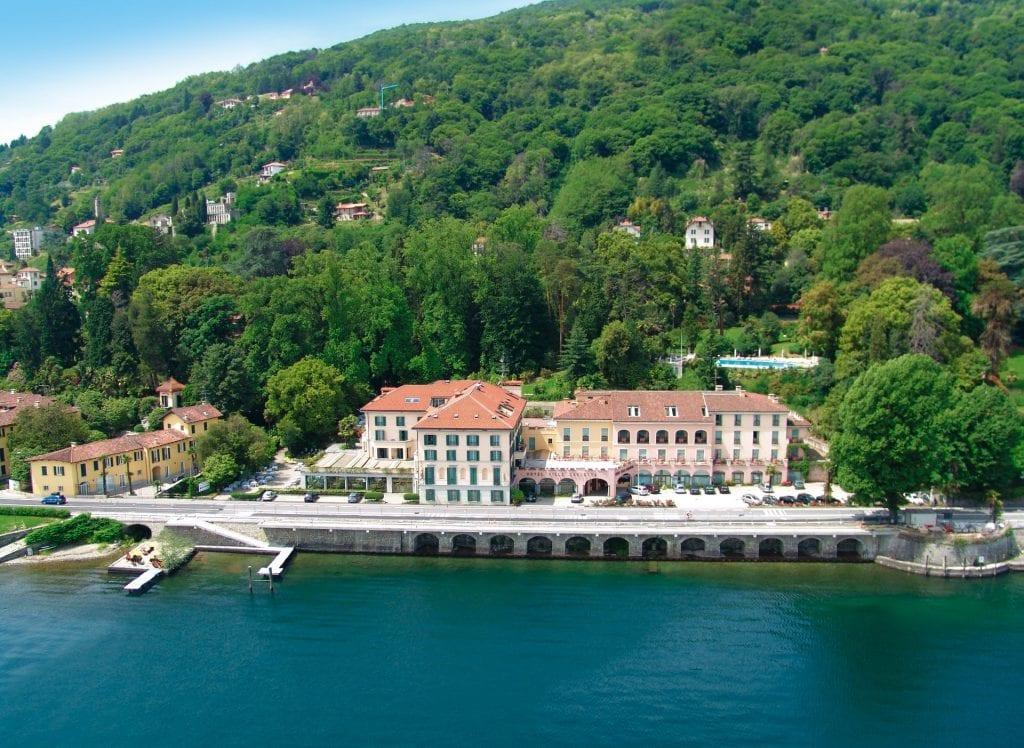 Villa Carlotta vista dall'alto
