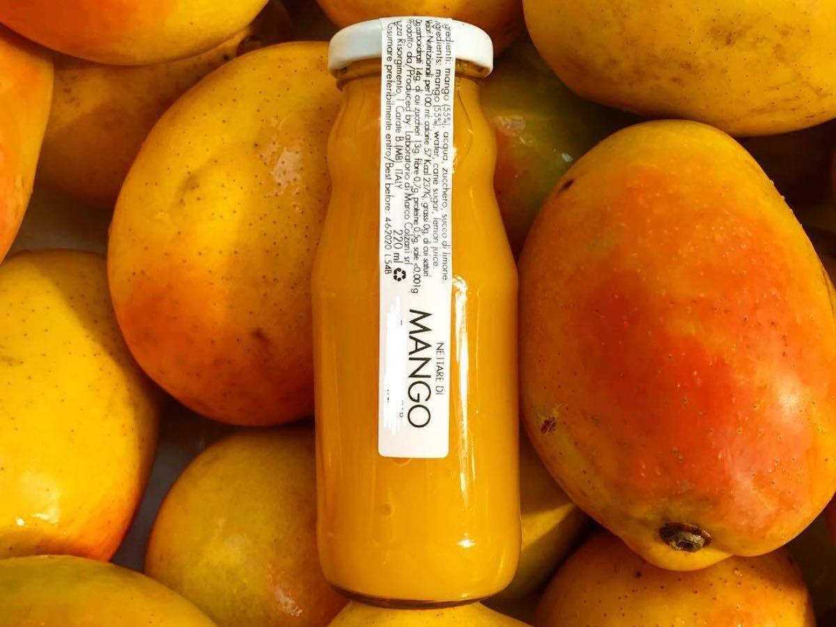 Marco Colzani - succo di frutta al mango siciliano