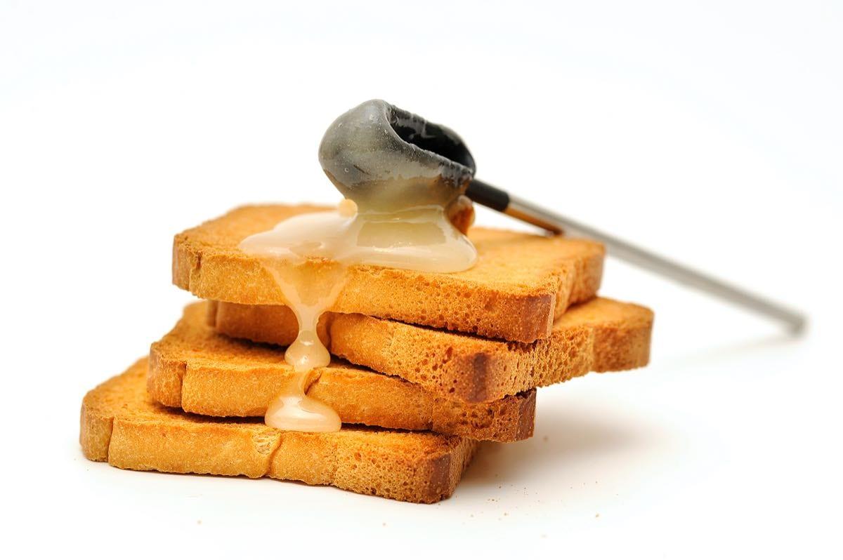 fette biscottate e miele