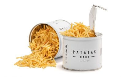 Le patatine a fiammifero di Patatas Nana