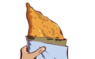 La pizza fritta