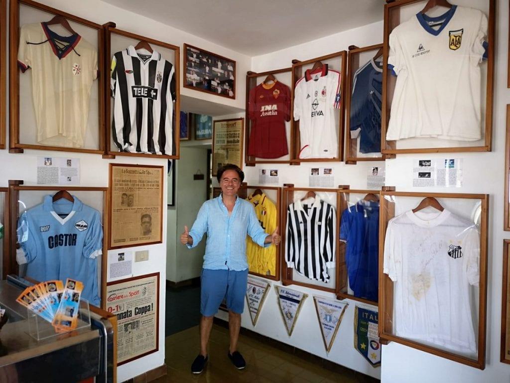 Museo del calcio a Salina