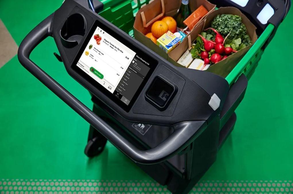 Il carrello Dash Cart di Amazon Fresh