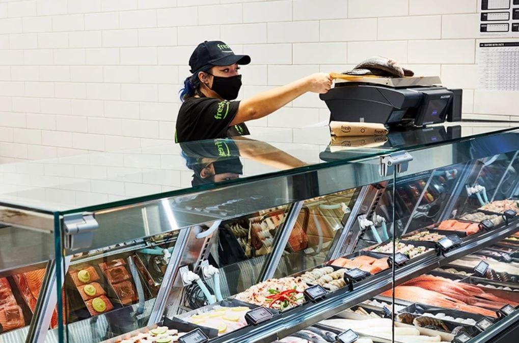 Banco gastronomia da Amazon Fresh