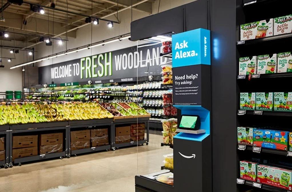 Frutta fresca nello store di Amazon Fresh