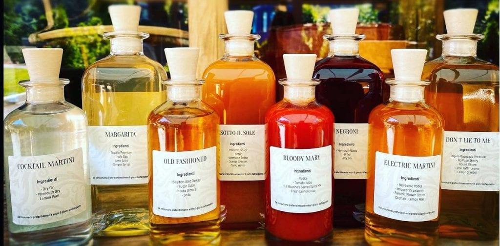 I cocktail in bottiglia di La Bouche