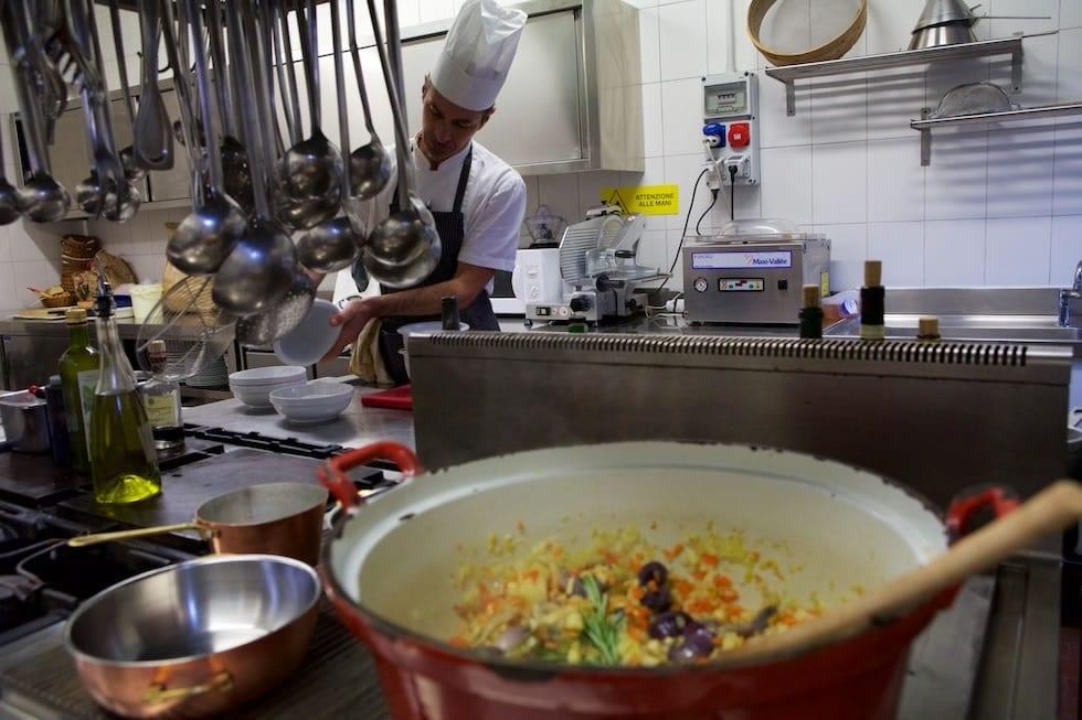 In cucina al Pierre Alexis