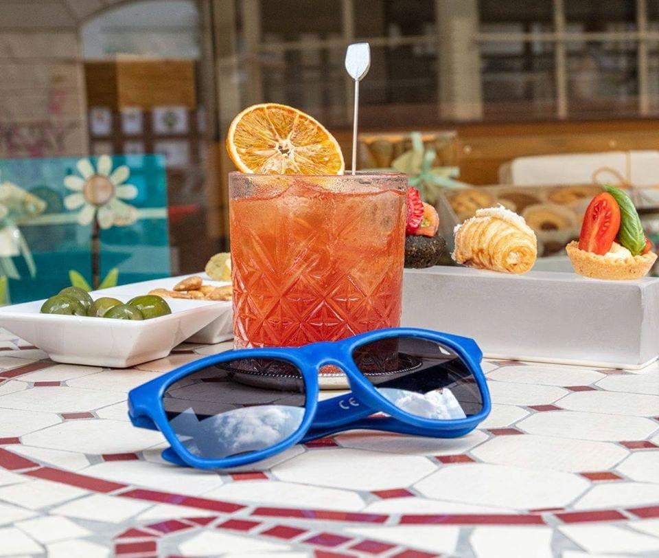 Cocktail Americano in Blues Clivati