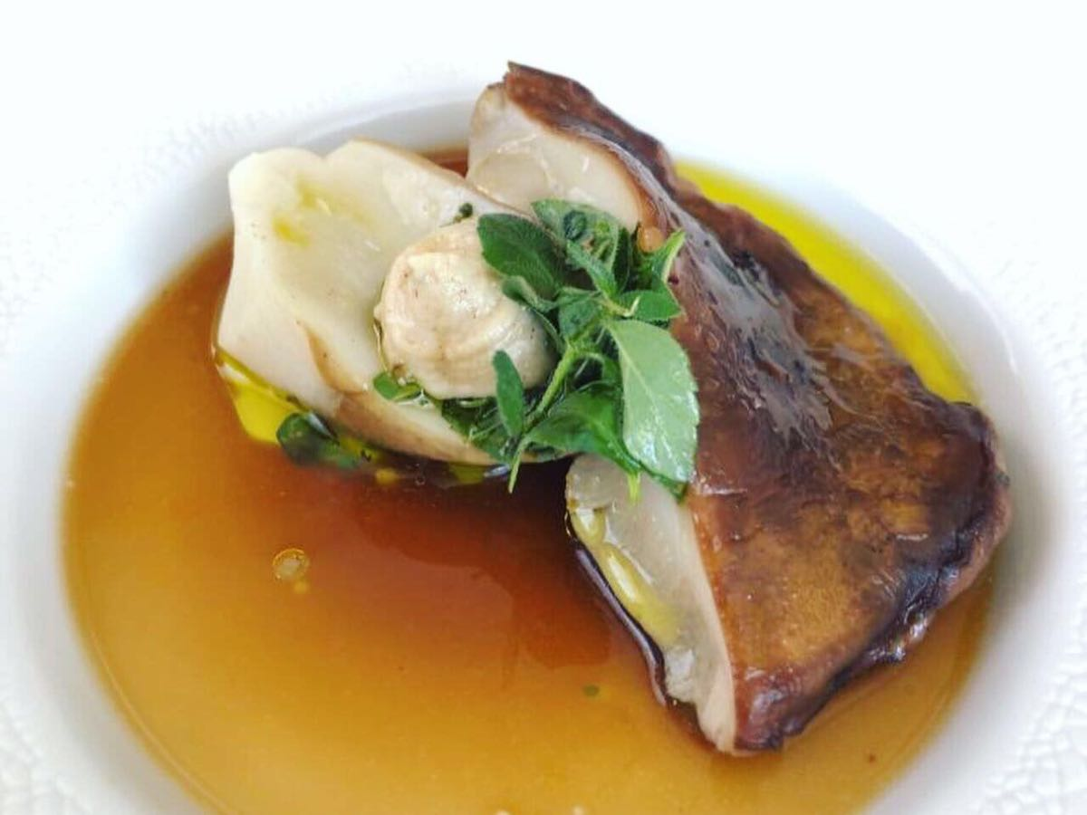 Colline Ciociare - menu- Fungo porcino cotto al vapore