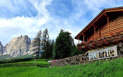 Il SanBrite a Cortina d'Ampezzo. Cucina rigenerativa di montagna