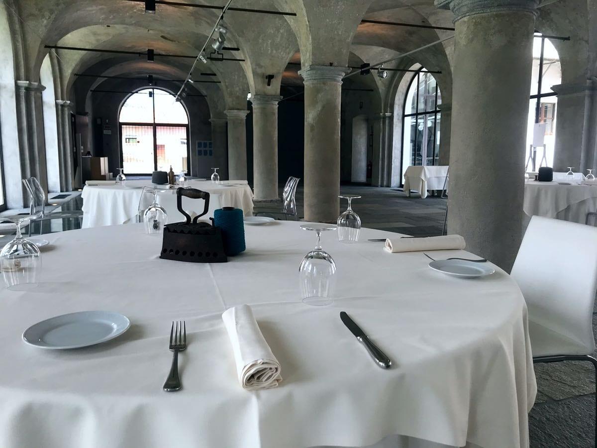 apre l'Osteria Il Nanetto all'interno del più antico setificio rimasto in Europa, il Filatoio di Caraglio.
