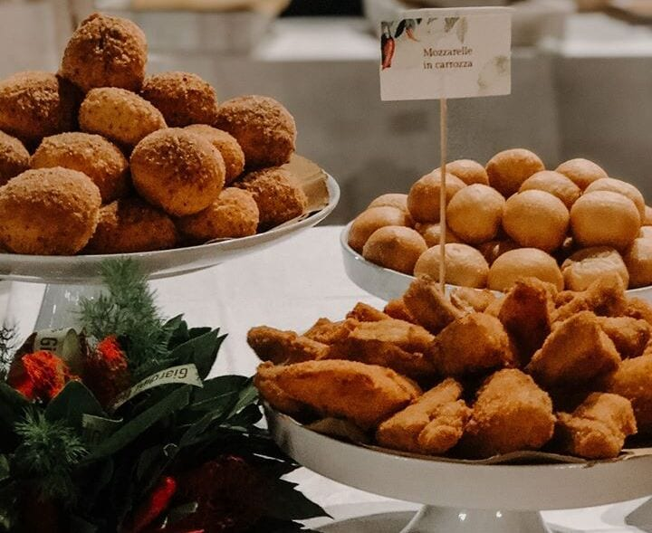 Fritti aperitivo Marialuisa Pasticceria