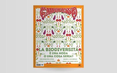 La copertina di settembre 2020 del Gambero Rosso