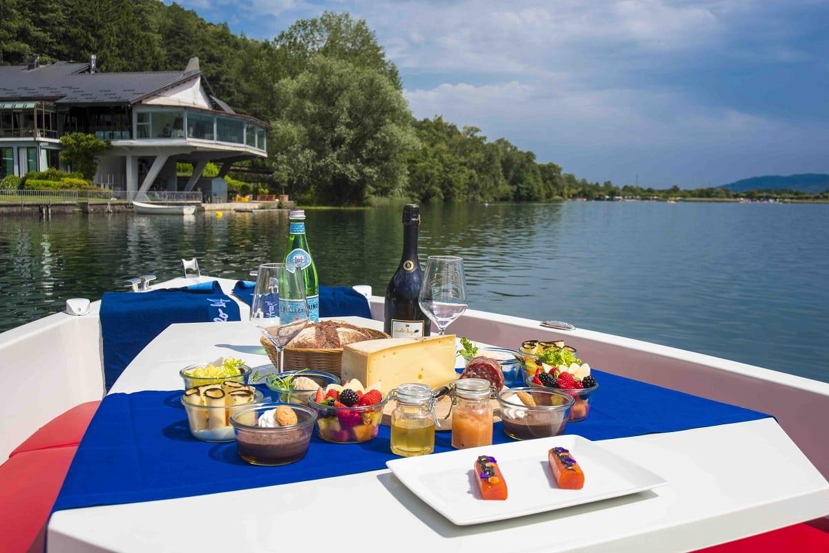 la barchetta gourmet del Piccolo Lago