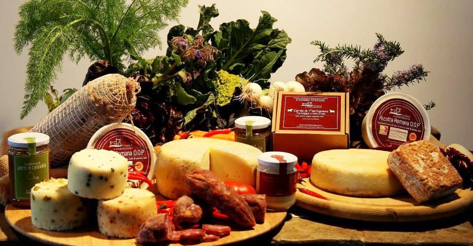 I prodotti del Casale di Martignano