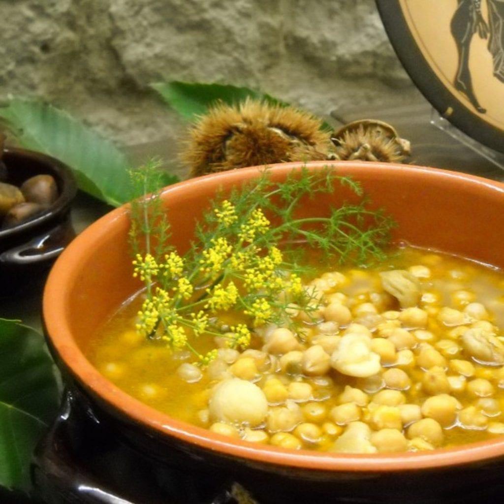 Dove mangiare nella Tuscia viterbese. Agriristoro il calice e la stella a canepina. una zuppa