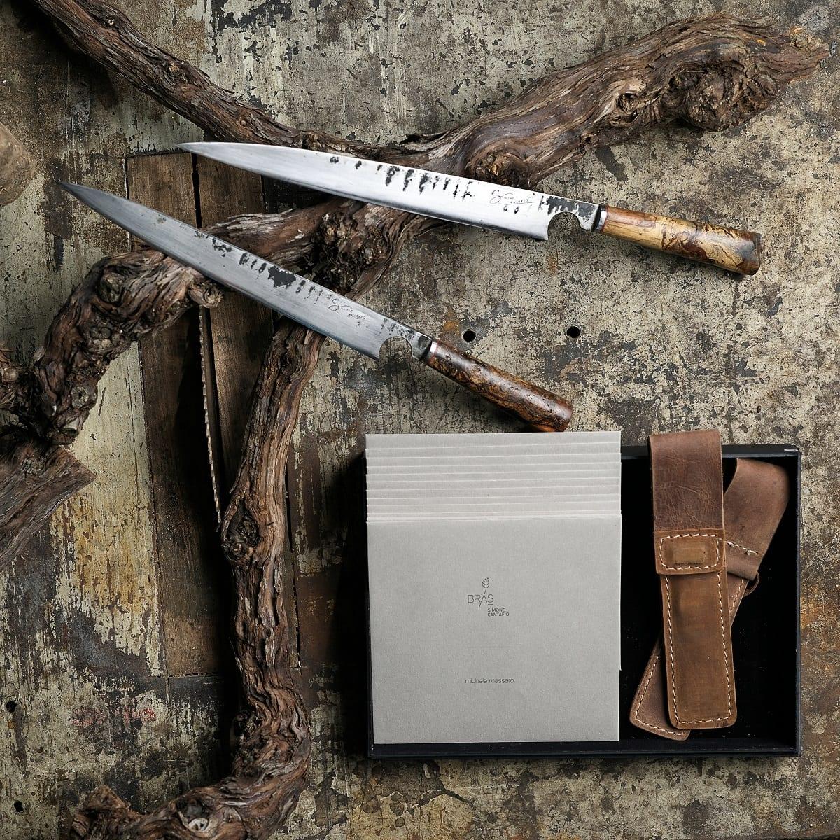 I coltelli di Michele Massaro per Simone Cantafio