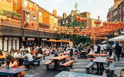 Newport Place a Chinatown, Londra