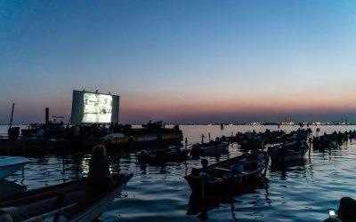Il cinema galleggiante di Venezia