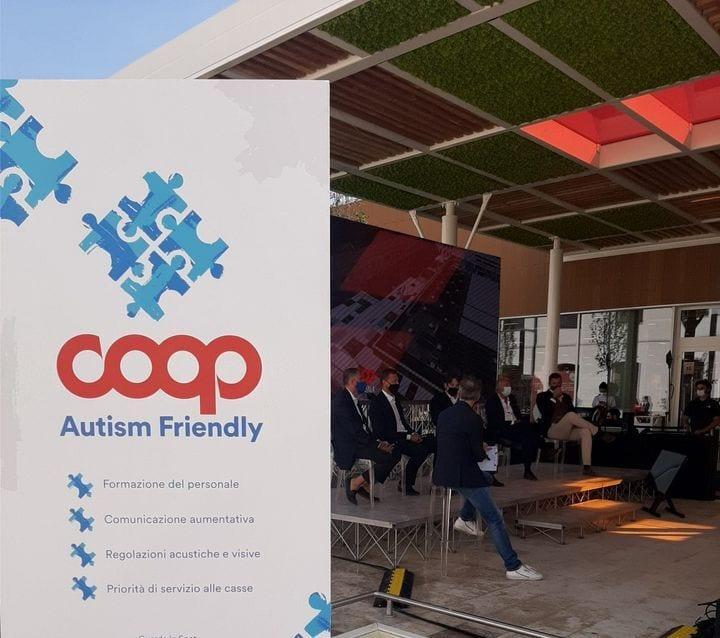 Insegna Coop Autism Friendly
