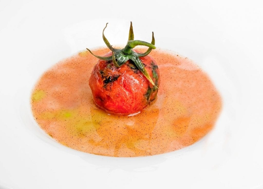 un piatto di Danilo ciabattini viterbo