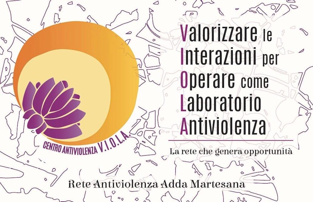 Il logo della rete Viola