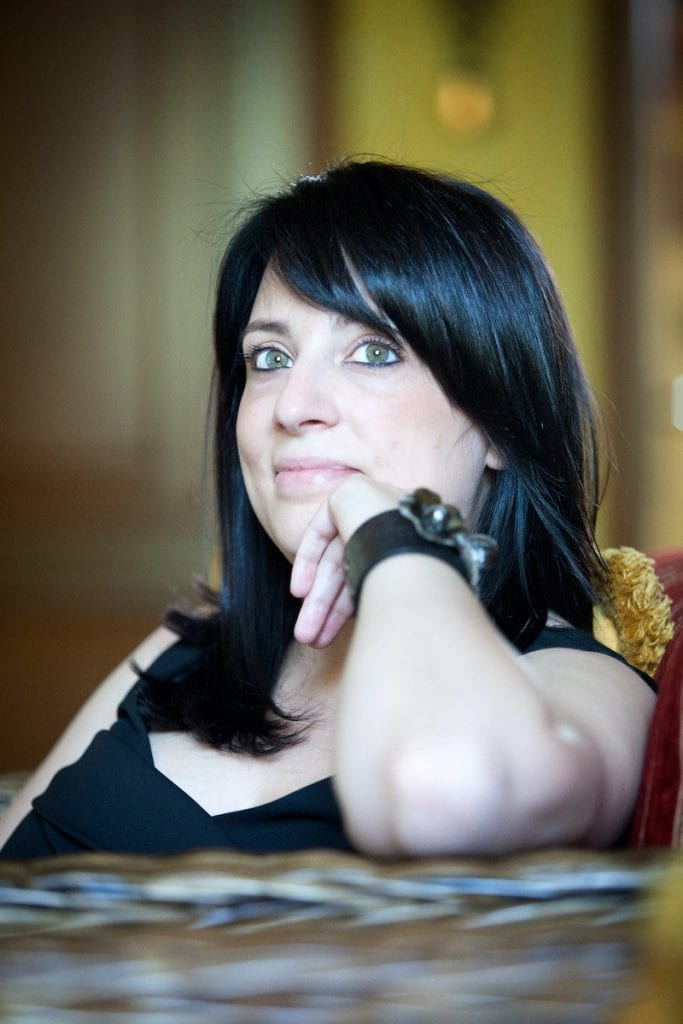 L'imprenditrice sociale Selene Biffi, che ha inventato la stampante 3d per il gelato. Credits di Reto Albertalli