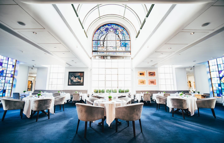 La sala di Bibendum a Londra
