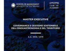 Manager dell'enogastronomia: Master executive in governance e gestione sostenibile dell'enogastronomia e del territorio