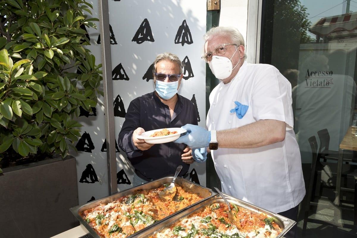 Umberto Montano e Davide Scabin al Mercato di Torino