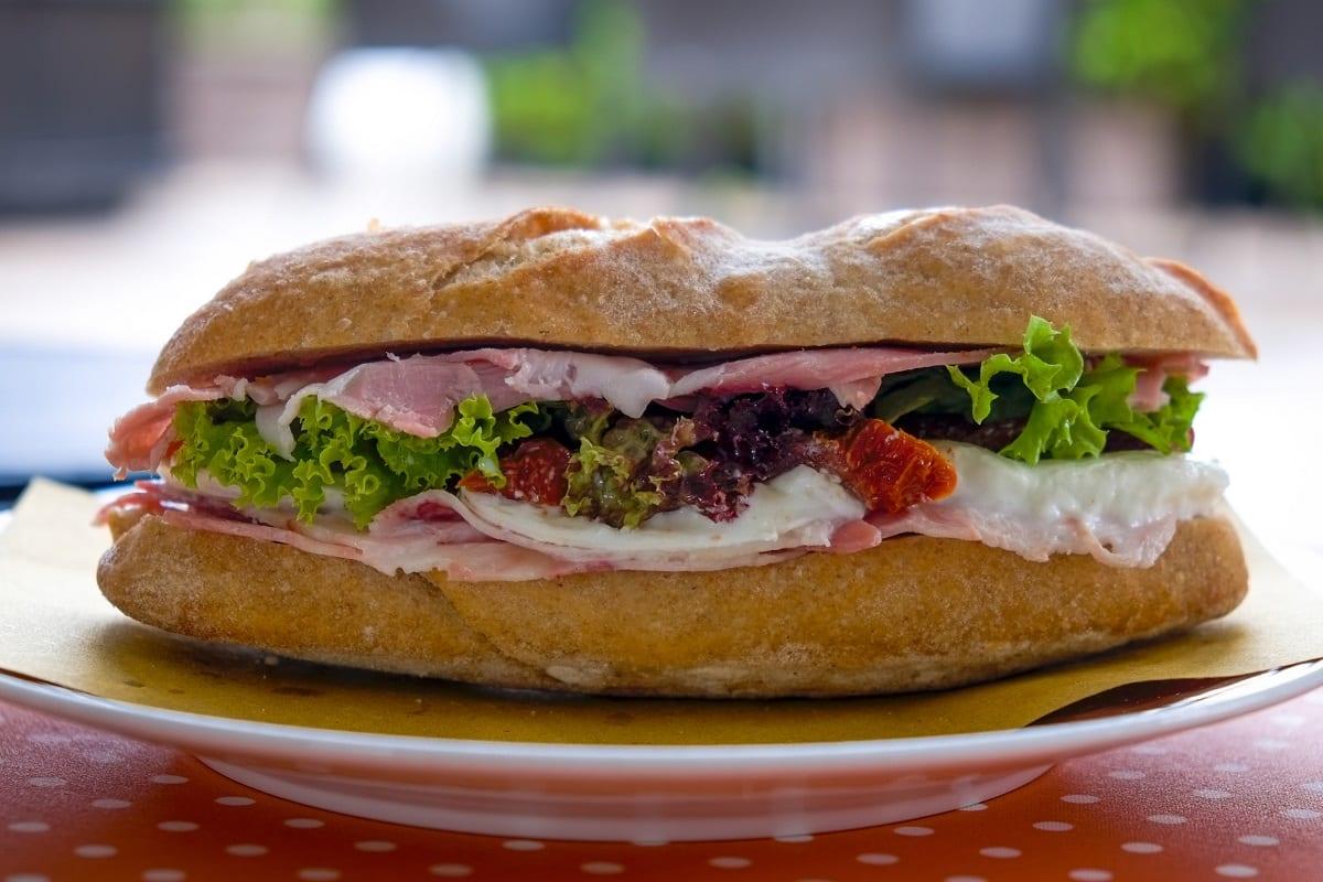Un panino della rinascita