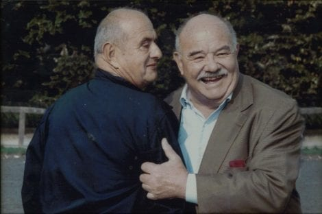Pierre Troisgros con Paul Bocuse