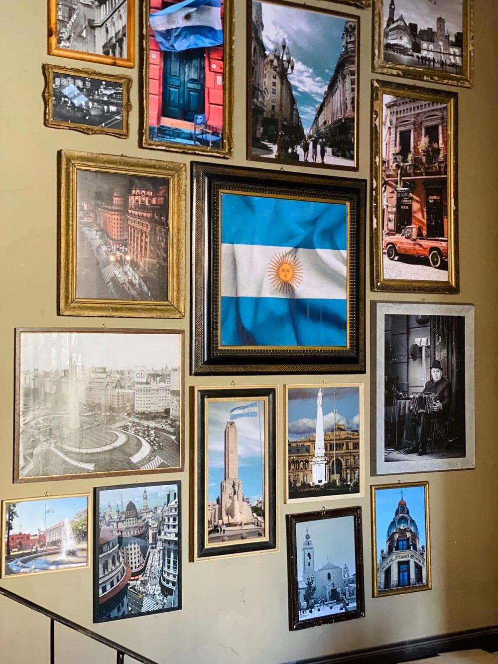 Foto tra Argentina e Roma al Porteno