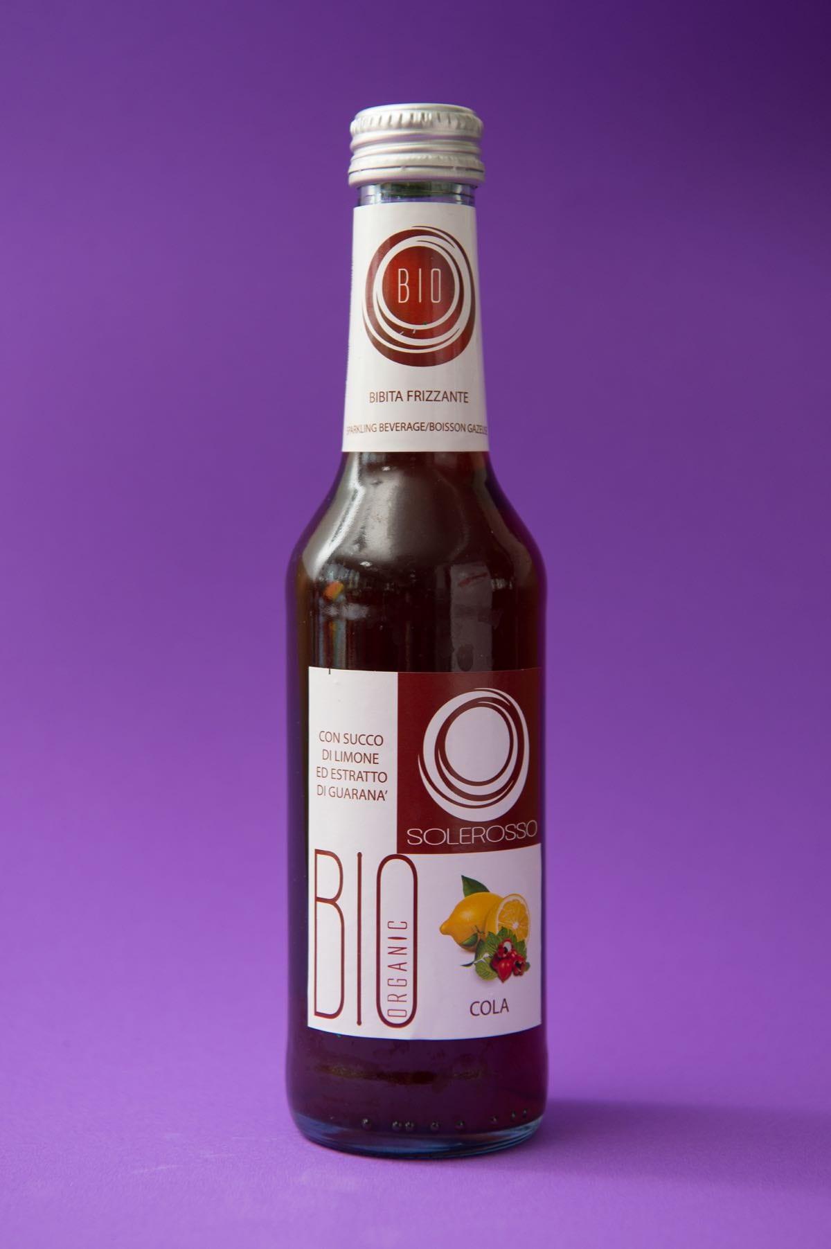 Le bibite alternative a Coca-Cola e Pepsi-Cola: Solerosso Bio Cola