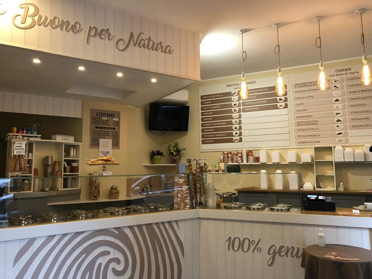 La gelateria di Terra e Cuore a Verona