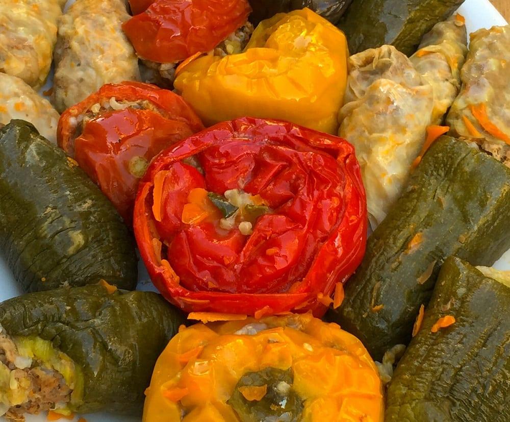 Tolma, verdure ripiene da Casa Armenia