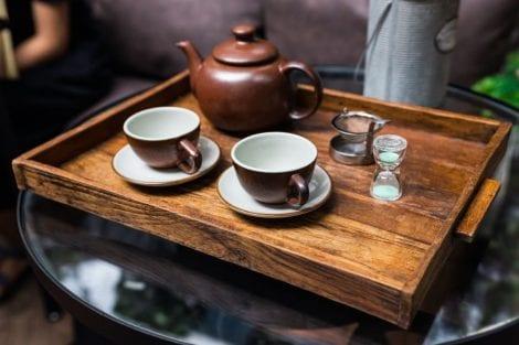 Velluto a Bologna - il servizio del tè