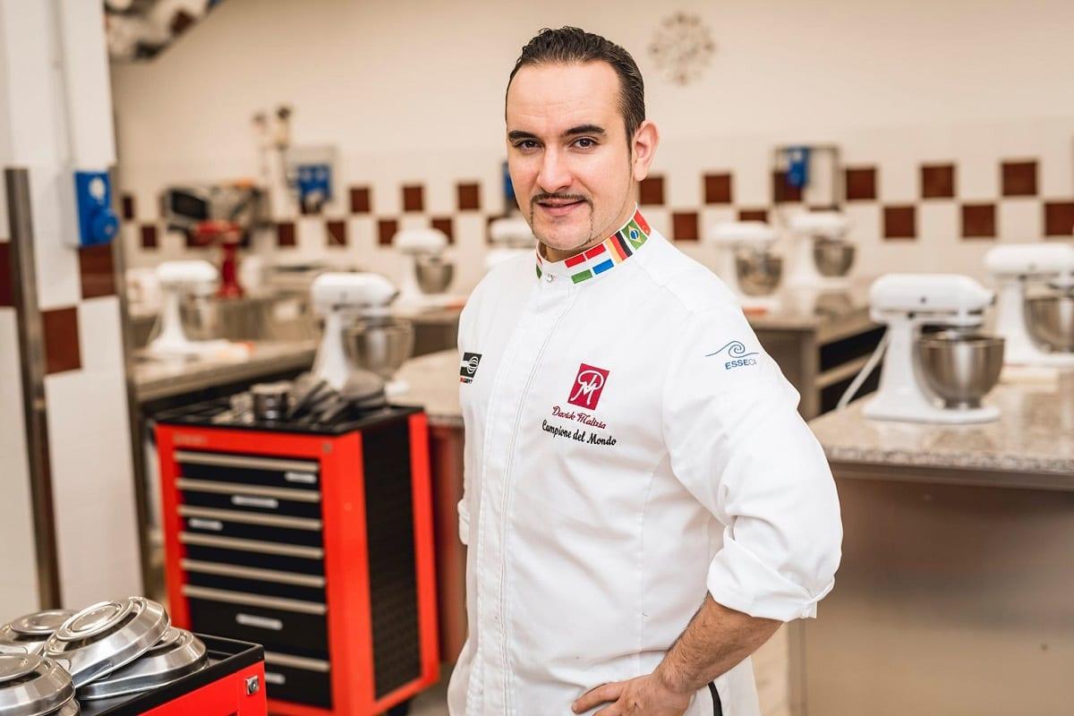 Davide Malizia in laboratorio