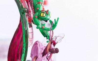 Una scultura in zucchero di Davide Malizia