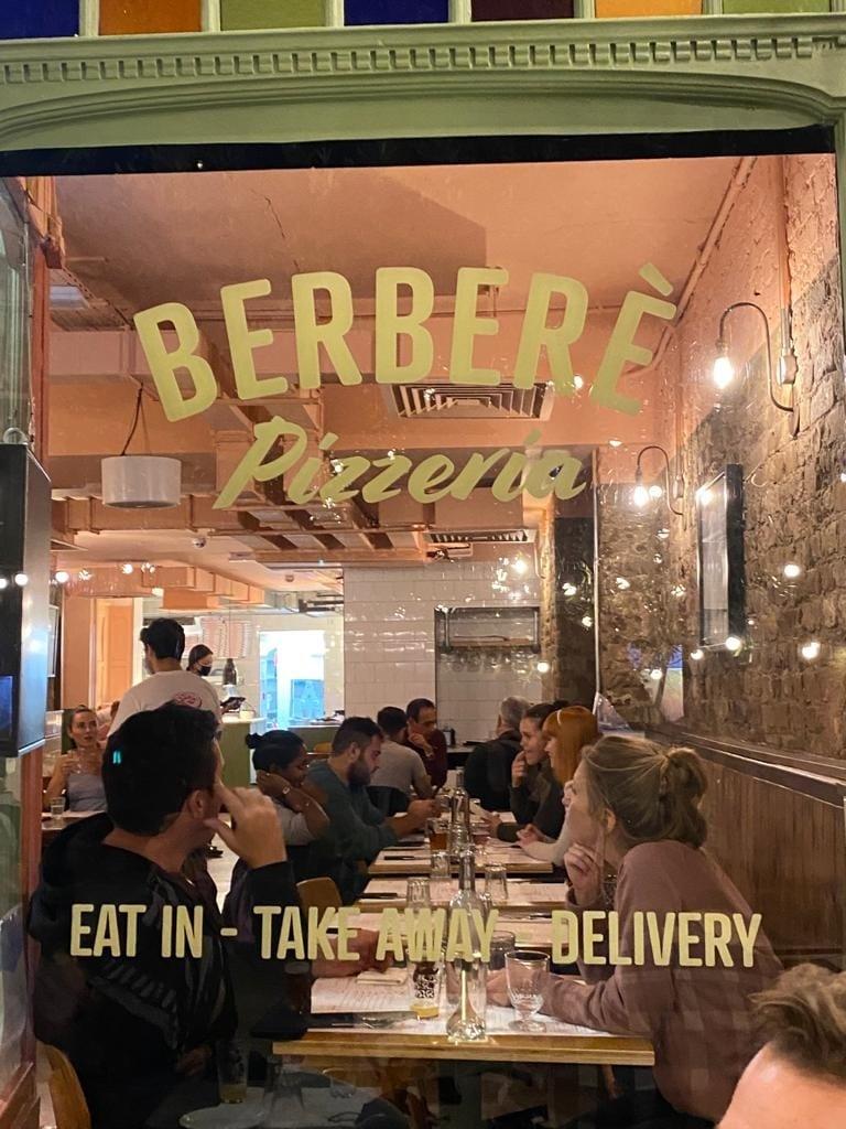 La vetrina di Berberé a Clapham