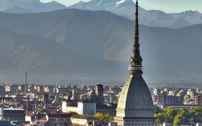 Panorama di Torino con la Mole