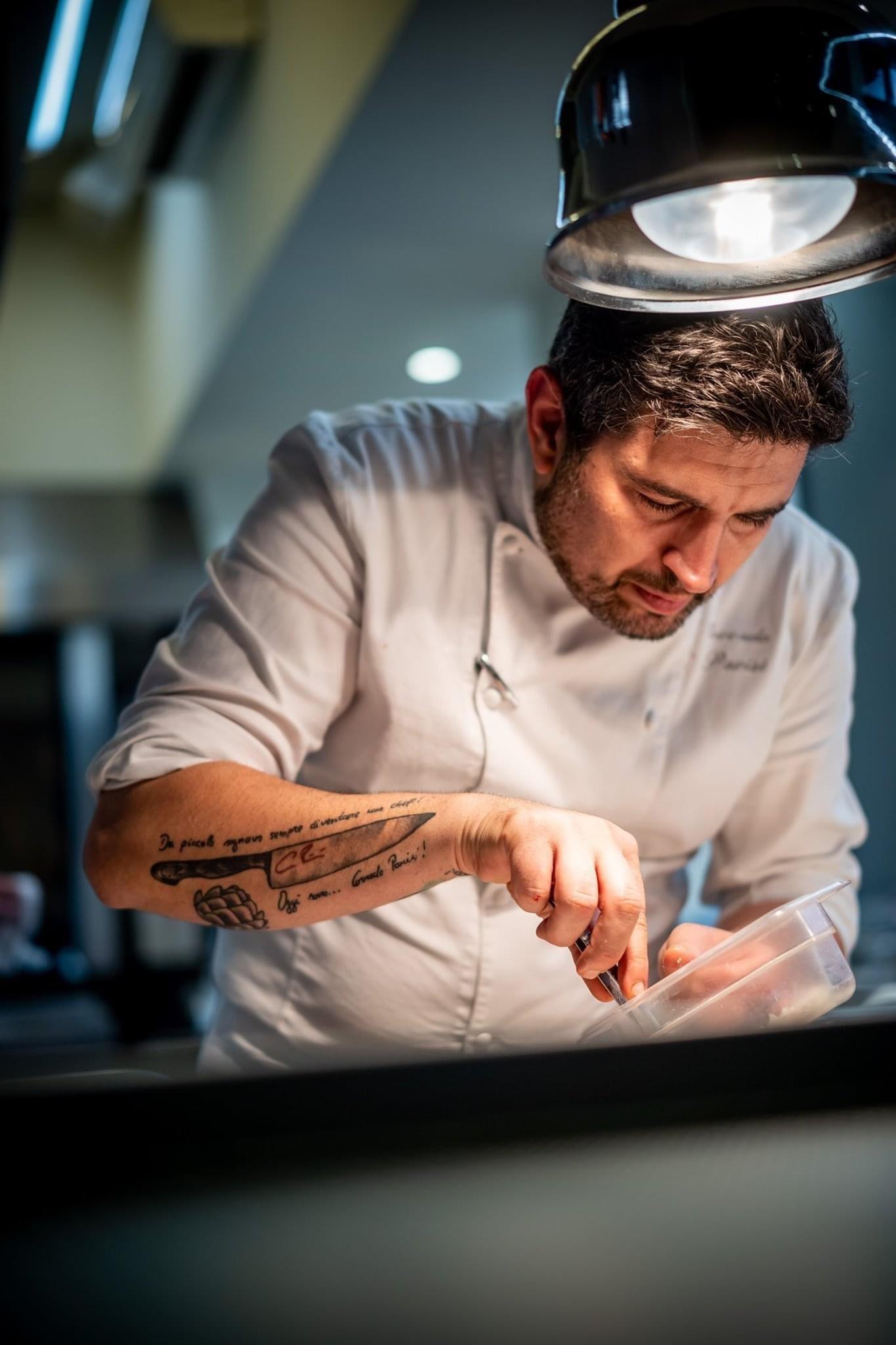 chef Corrado Parisi
