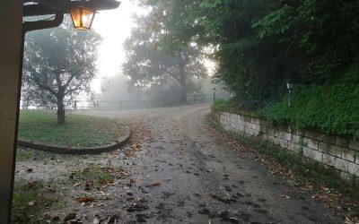 L'alba al Casaletto di Viterbo