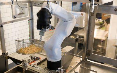 Il braccio robot di Miso Robotics